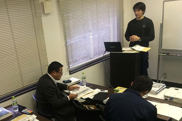 本部の担当者が事業所を訪問し開業応援を行います。